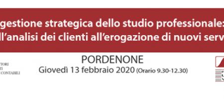 13 Febbraio 2020 Pordenone