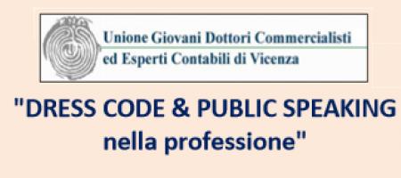 17 Settembre 2019 DRESS CODE & PUBLIC SPEAKING  nella professione